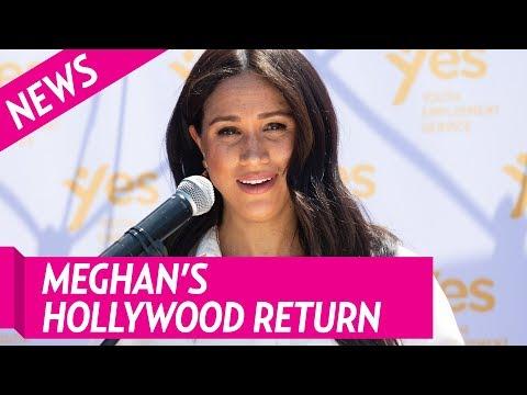 "Duchess Meghan Voices New Disney Movie ""Elephant"""