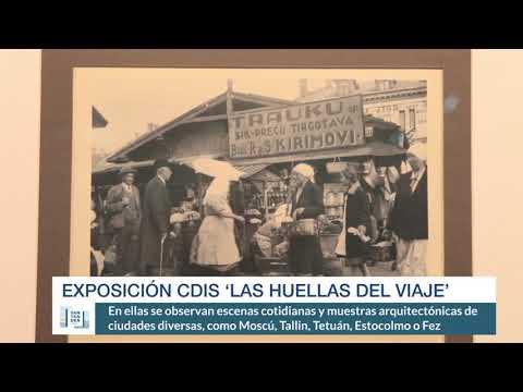 Exposición CDIS 'Las huellas del viaje'
