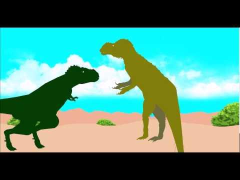 Sub Aldut T rex VS Sinotyrannus