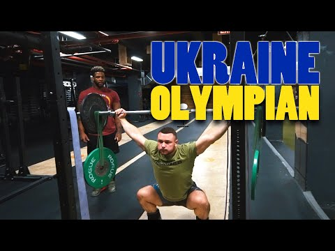 Training With A Ukraine Olympian : Dmitry Chumak | Olympic Weightlifting