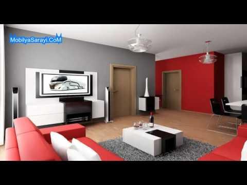 Salon dekorasyon fikirleri 2015 youtube for Acik mutfak salon dekorasyon
