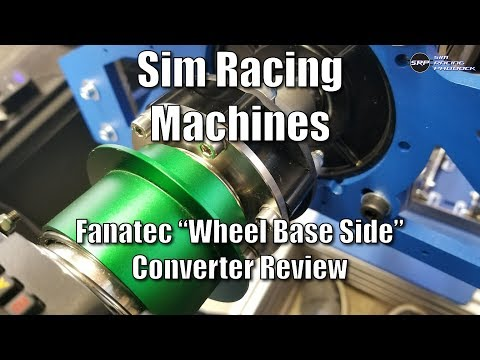 Sim Racing Machines Fanatec Conversion Kit Review - Use