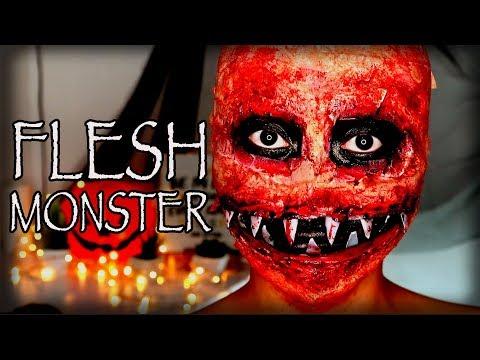 FLESH MONSTER Makeup Tutorial | Miss Menchie