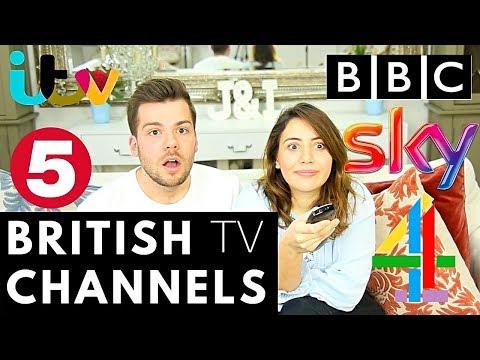 🇬🇧BRITISH TV NETWORKS! 📡 | American vs British