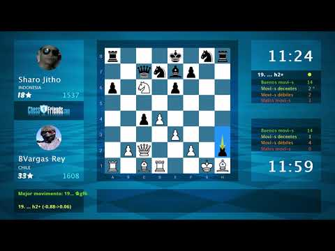 Chess Game Analysis: BVargas Rey - Sharo Jitho : 1-0 (By ChessFriends.com)
