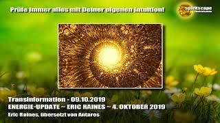 ENERGIE-UPDATE ~ ERIC RAINES ~ 4. OKTOBER 2019 - Transinformation.net