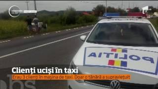 Doi oameni au murit, după ce s-au urcat într-un taxi, în judeţul Bacău