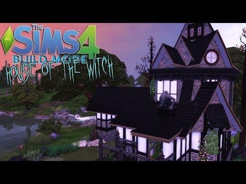 The Sims 4[โหมดสร้าง]#บ้านแห่งแม่มดจูเรีย