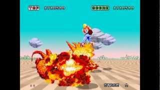 Space Harrier - Arcade Longplay
