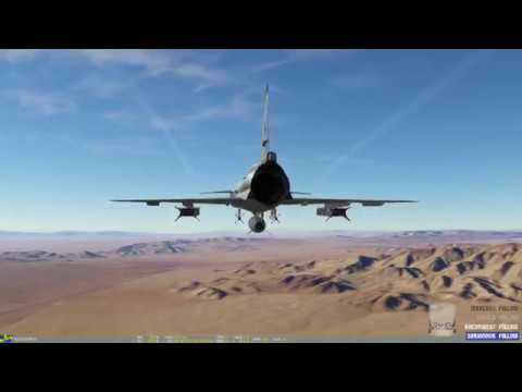 DCS World - 2.1 Nevada - Testing Runway Damage