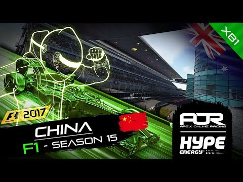 F1 2017 | AOR Hype Energy F1 Leagues | XB1 Oceania S2 | R2: Chinese GP