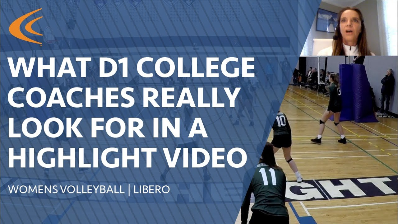 Ncsa How To Make A Volleyball Recruiting Video That Gets Noticed