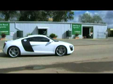 Supercharged Audi R8
