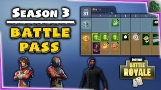 Fortnite News - Battle Royale Season 3 Battle Pass, All Items, New Challenge System & Customization