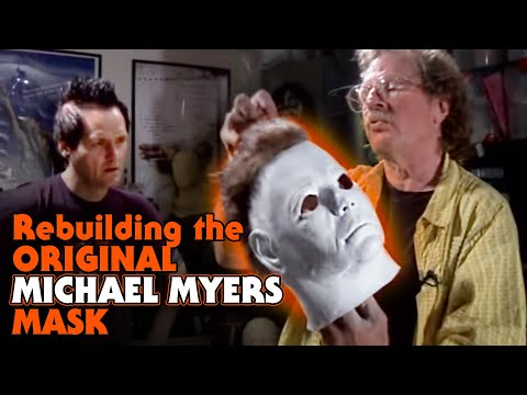 Rebuilding The Shape/Halloween Michael Myers Mask with Tommy Lee Wallace & Sean Clark