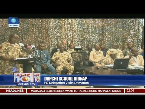 Dapchi School Kidnap: FG Delegation Visits Damaturu