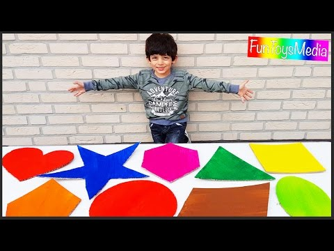 Thumbnail: Learn Shapes for Children and Toddlers | Learn Colors for Kids with Shapes Educational Video