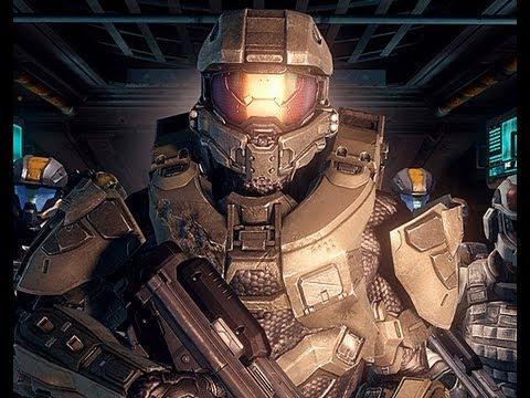 Halo 4 All CGI Cutscenes[High-definition 720p]