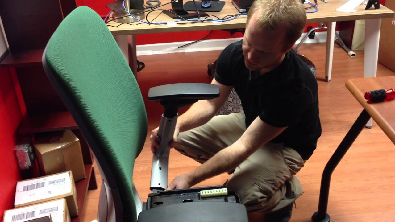 Amia Chair Seat And Arm Removal Youtube