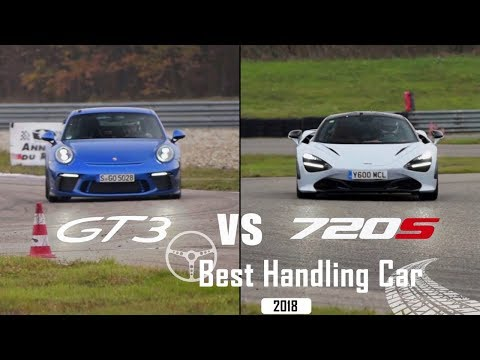 Porsche 911 GT3 vs. McLaren 720S | Best Handling Car 2018 | sport auto