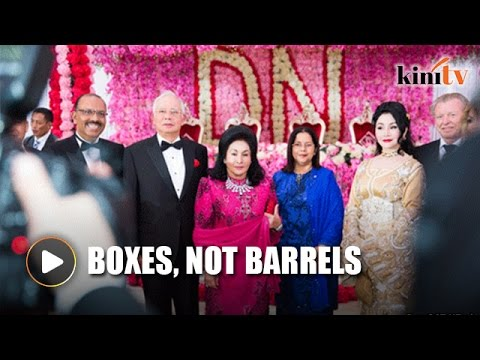 16 boxes of gifts a Kazakh tradition, says Najib's son-in-law