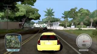 2500HP Honda Civic Type R 1997 - Test Drive Unlimited {PC} [HD]