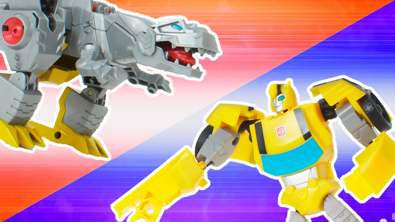 Bumblebee's Giant Robot Construction   Transformers x Play-Doh   Play-Doh Show   Play-Doh Official