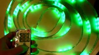 Светодиодная лента 5050 SMD 60 100 RGB IP65 Бегущая волна + контроллер2(www.svetodiod96.ru., 2013-12-18T05:36:34.000Z)