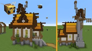 Bee Keeper's House Tutorial | Minecraft 1.15 House