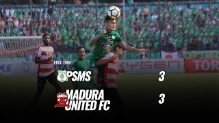 [Pekan 31] Cuplikan Pertandingan PSMS  vs Madura United FC, 17 November 2018