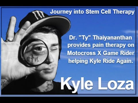 Kyle Loza X Games Wrist Injury & Stem Cell Pain Therapy : BasicSpine.com