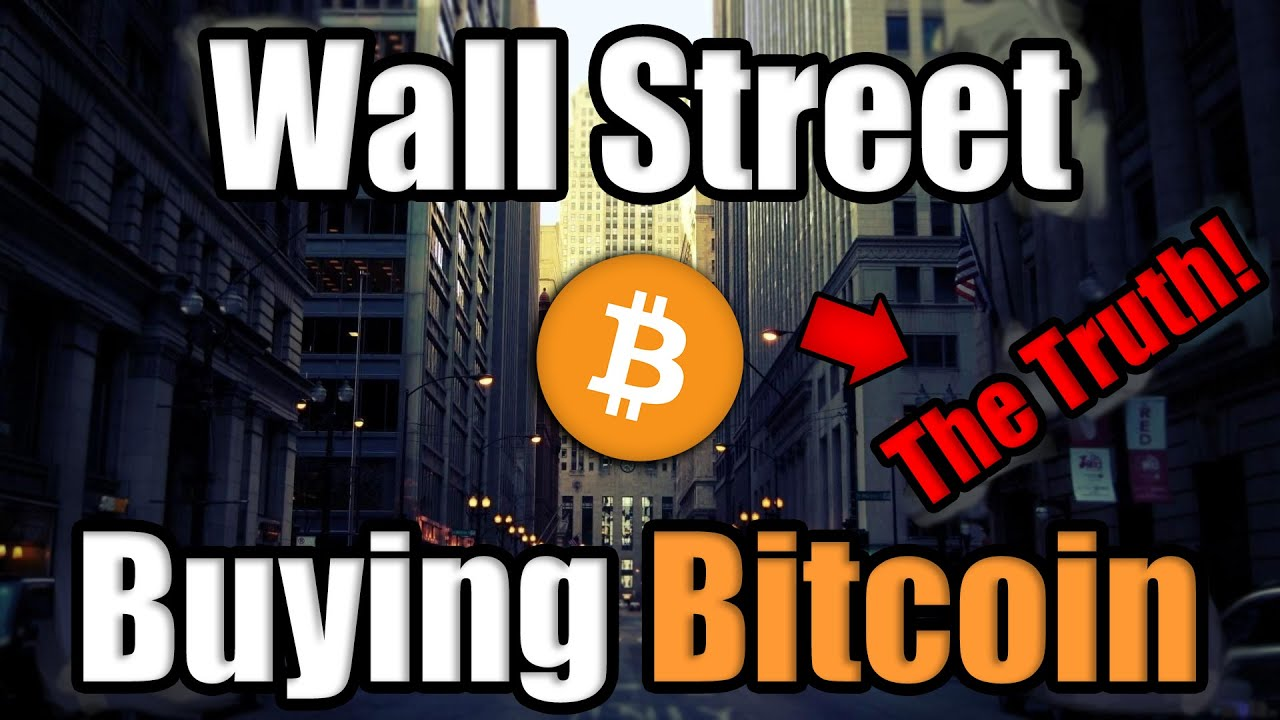 The Truth About Wall Street Buying Bitcoin [3 Audio Clips REVEALED]