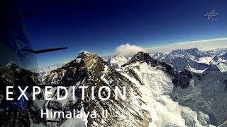 Flight to Mount Everest / Mit dem Motorsegler am Mount Everest