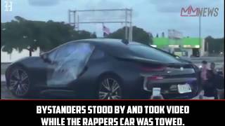 XXX Tentacion's BMW was removed from the crime scene [My Mixtapez News]