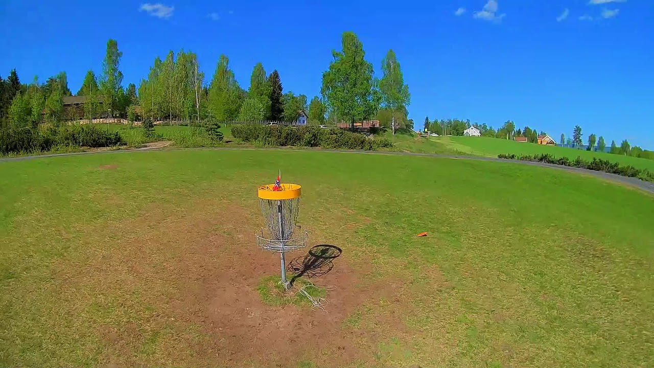 A sneak peak at the first hole