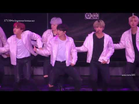 171104 고민보다 GO V focus @    BTS wings macao macau