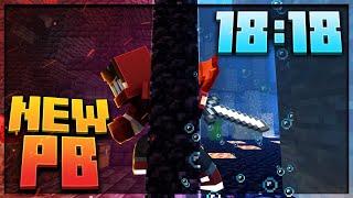 Minecraft 1.16 Speedrun in 18:18 [Personal Best]
