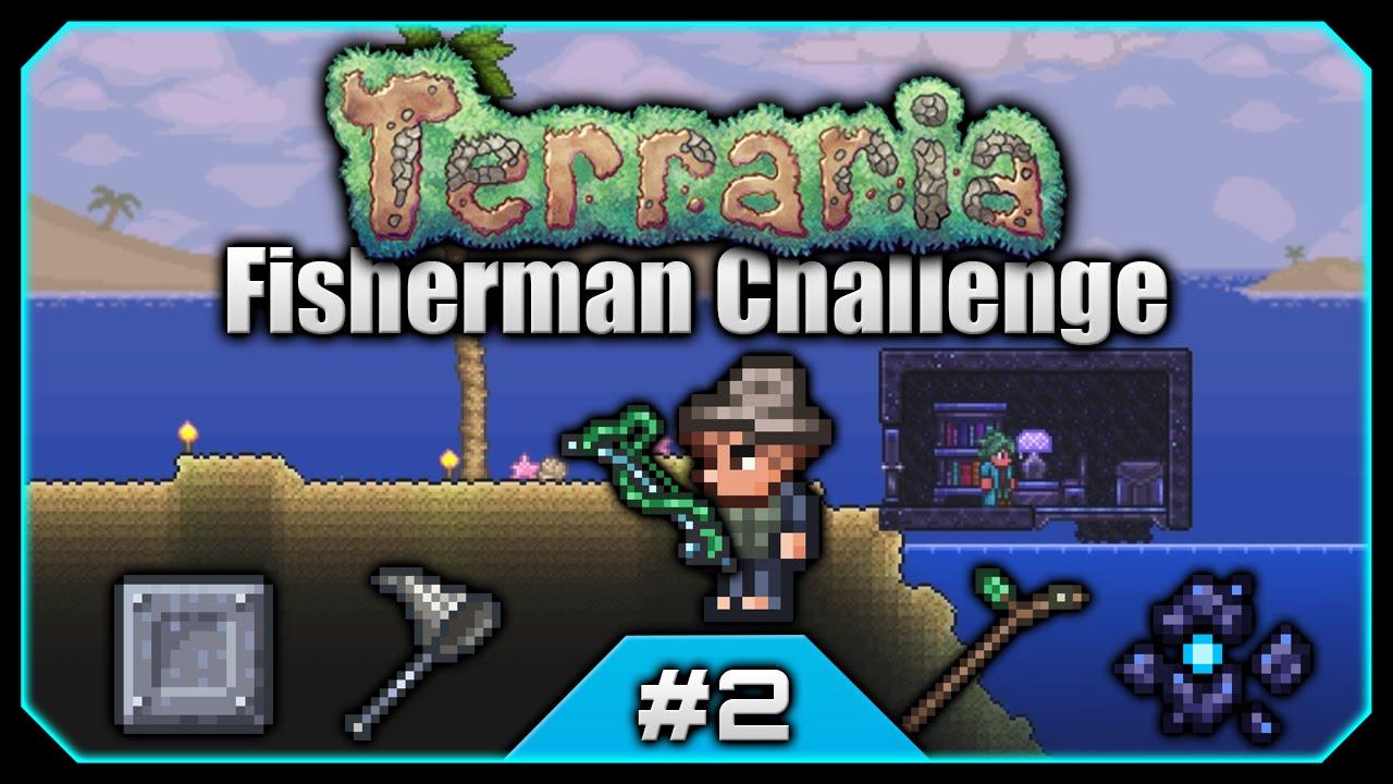 Terraria Challenges Fisherman Challenge Granite