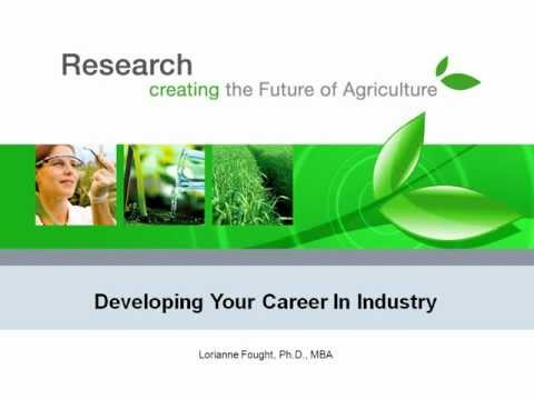 "2012 APS Careers in Industry Webinar: ""Developing your career in industry"""
