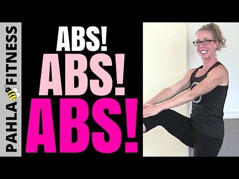 ABS! ABS! ABS! 35 Minute Barefoot Bodyweight CORE STRENGTHENING Workout for RUNNERS