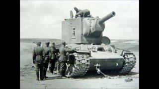 Maquete em papel do tanque KV-2 / KV-2 Papercraft