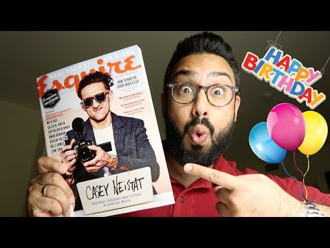 In This Magazine With Casey Neistat #Unboxing
