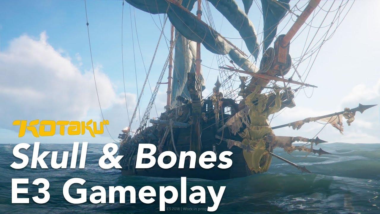 Skull & Bones Hands-On At E3 2018