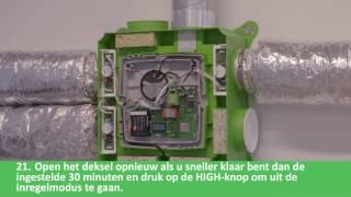 Installatiefilm Duco Comfort Plus System - DucoTronic Plus System