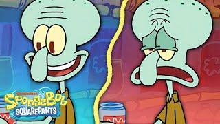 "Squidward Moves to Tentacle Acres! 🐙 ""Squidville"" 5 Minute Episode | SpongeBob"
