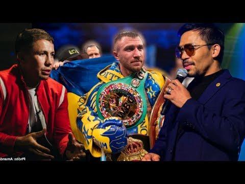 WBA убрала Головкина, Ломаченко лучший, Валюта Пакьяо, Чавес отказался от боя с GGG!
