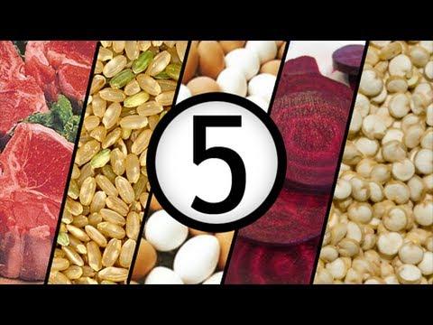 5 Alimentos Para Aumentar la Masa Muscular -  LQ