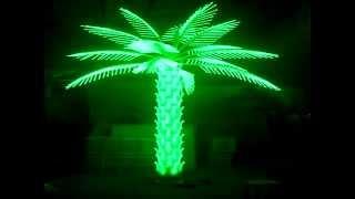 Светодиодная пальма