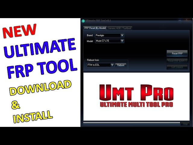 ULTIMATE FRP TOOL DOWNLOAD & INSTALLUMT PRO DONGLE