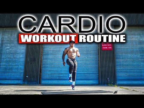 30 MINUTE FAT BURNING CARDIO WORKOUT(NO EQUIPMENT)